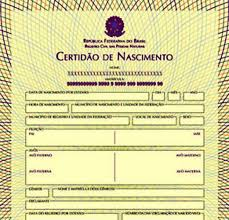 Common Documentos para registro de nascimento - Brasil Blogado @JV06