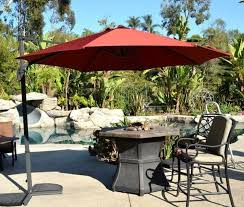 backyard patio umbrellas adjustable market offset