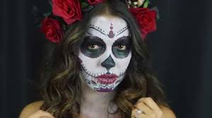 day of the dead makeup for halloween halloween make up tutorial day of the dead dia de los muertos
