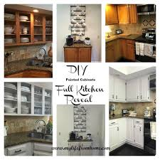 painting kitchen cabinets white diy diy painted kitchen cabinets hometalk