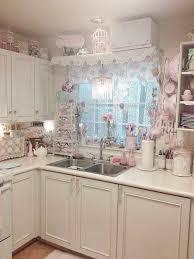 Country Chic Kitchen Ideas Pink Kitchen Decor Mforum