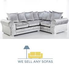 Chenille Chesterfield Sofa by We Sell Any Sofas Crushed Velvet Leather Fabric U0026 Corner