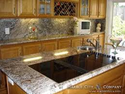 Countertops With Oak Cabinets 20 Beautiful Dark Cabinets Light Countertops Design Ideas Home