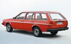 red volkswagen passat volkswagen passat variant b2 1980 review