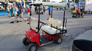 life in the slow lane buying carrying and using a cricket golf cart