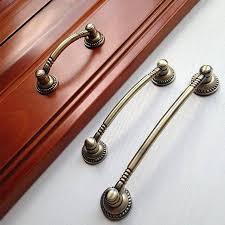 rustic kitchen cabinet door handles 2 5 3 78 5 vintage dresser drawer pulls handles knobs antique bronze rustic kitchen cabinet door handle pull knob hardware 64 96 128mm