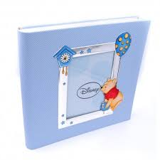winnie the pooh photo album blue photo album cm 30x30 winnie the pooh 3d painted disney baby