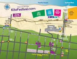 Long Beach Zip Codes Map by Kite Festival Map World Kite Museum