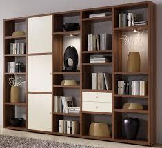 Wohnzimmerschrank Ohne Tv Toro Schrankwand Bücherregal Bibliothek Regal Mit Schiebetür