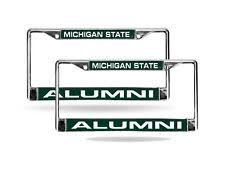 msu alumni license plate frame michigan license plate frame ebay