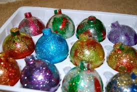 glitter balls occasions and holidays