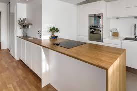 plan de travail de cuisine sur mesure plan de travail cuisine chene 10 stratifi bois inox leroy merlin