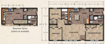 Modular Homes With Basement Floor Plans Ranch Floor Plans From Crowne Homes U2013 Cornerstone Homes U2013 Indiana