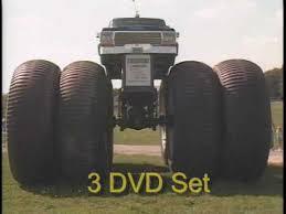 monster trucks classic crashes dvd video