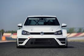 golf car volkswagen vw dabbles in touring cars with new 2015 golf racer by car magazine