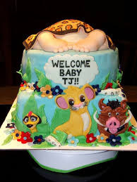 lion king baby shower ideas lion king baby shower cake ideas 14 best ba shower cakes images on