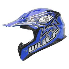 helmets for motocross wulf cub flite xtra motocross helmet kids junior childrens mx atv