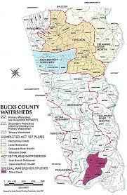 bucks county map watershed management the bucks county conservation district