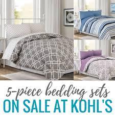 Kohls Bedding 5 Piece Bedding Sets At Kohl U0027s Only 17 99 Each Ezy Blogs