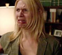 Claire Danes Cry Face Meme - claire danes reveals her battle to beat body shaming