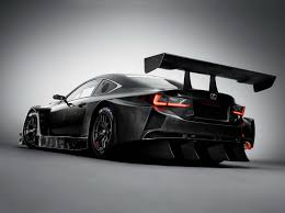 lexus car black lexus rc f gt3 reminds us how awesome racing cars look all in black