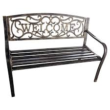 butterfly aluminum garden benchmetal outdoor furniture canada