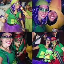 Halloween Costumes Ninja Turtles Diy Teenage Mutant Ninja Turtle Halloween Costume Idea Diy