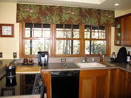 Black Valances Black And White Kitchen Valance Window Treatments Design Ideas