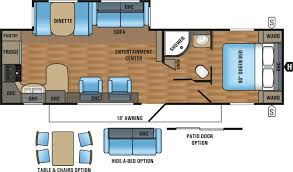 Jayco Jay Flight Floor Plans by Jayco Jay Flight 29 U0027 Rear Kitchen Travel Trailer 0670005 Tcrv