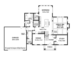 colonial floor plan colonial style house plan 4 beds 2 5 baths 2700 sq ft plan 1010