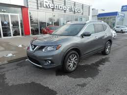 nissan rogue fully loaded used 2015 nissan rogue sl tech at rendez vous nissan 27995 0