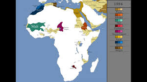 africa map by year the history of africa every year