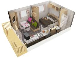 chambre mobile rental mobile home 1 bedroom 2 pers 2 hours from