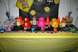 paw patrol candy table ideas paw patrol party november 2014