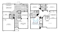 endicott model in the symphony meadows subdivision in volo floor plan