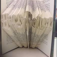 harry potter gryffindor book folding pattern book art template