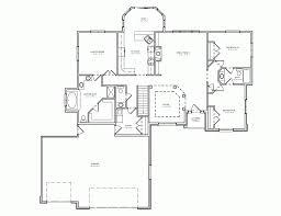 ranch house plans oak hill 30 810 associated designs ranch house plans with 3 car garage 4 tandem basement