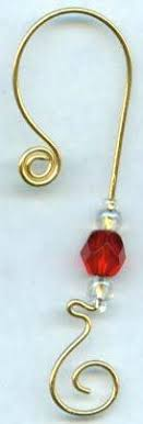 25 unique ornament hooks ideas on wire ornaments
