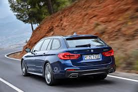 2017 bmw 5 series touring arrives as brand u0027s most practical estate