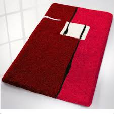 Non Skid Bath Rugs 52 Best Red Bathroom Rugs Images On Pinterest Bathroom Rugs