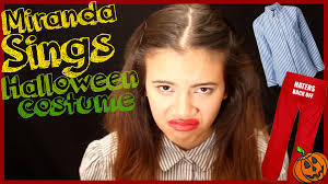 search halloween city how to miranda sings halloween costume diy youtube