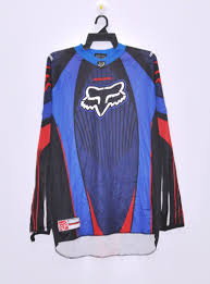 vintage fox racing team long sleeve t shirt motocross extreme