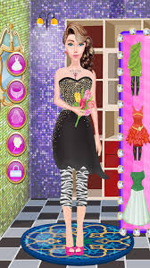 party dress up games and makeover long dresses online