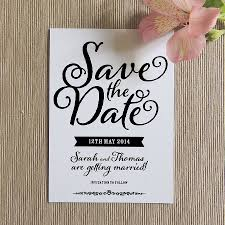 save the date invitation simple save the date invitations e card with trendy typography and