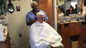 haircuts at the barbershop women african american mike pence got a haircut at a black barbershop in norristown pa
