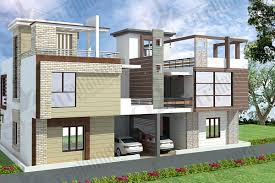 House Plans 2500 Square Feet by Duplex House Design In Around 200 Square Meters Hauses And