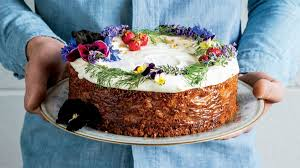 Spiced Honey Cake with Cream Cheese Frosting Recipe