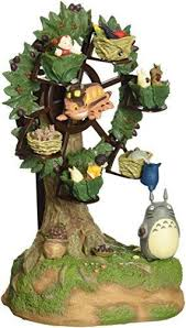 Studio Ghibli Decor Studio Ghibli My Neighbor Totoro Ferris Wheel In Woods Ebay