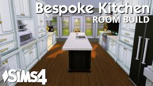 the sims 4 room build bespoke kitchen youtube