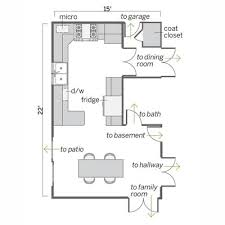 Small Kitchen Floor Plans Wonderful Small Kitchen Floor Plans Small Kitchen Floor Plans